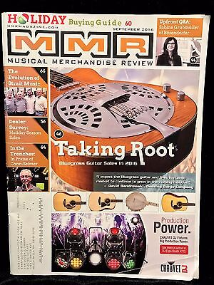 MMR Musical Merchandise Review SEPT 2016 V.175 N.9 Holiday Guide (84 pages)