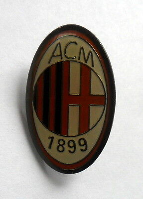 Ac Milan Metal Football Pin Badge