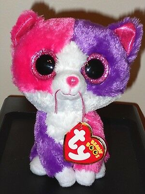 "NMT* Ty Beanie Boos ~ PELLIE the 6"" Cat (Claire's Exclusive) ~ NEW with NM TAGS"