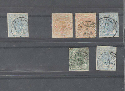 N0180    Luxembourg early used selection
