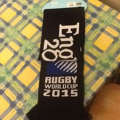 Rugby World Cup collection England scarf, BNWT