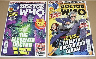 Doctor Who: Tales From The Tardis - 2 x Titan Comics Issues 6 & 7 Sci-Fi Dr Who