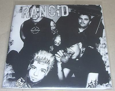 "Rancid - Radio Demos 7"" Vinyl White Label Six Tracks Lars Frederiksen Punk Rock"