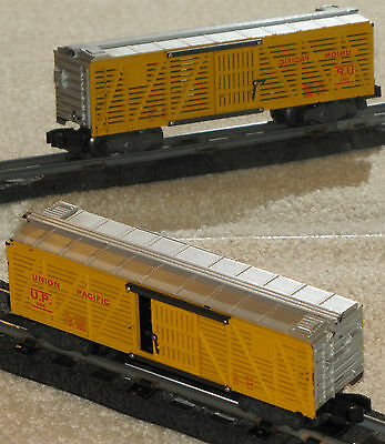 PRICE REDUCED: American Flyer 994 Union Pacific Stock Car C-6 NR