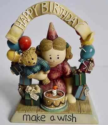 Pavilion Gift Co Happy Birthday Resin Ornament Zingle-Berry Make A Wish (98) Gr8