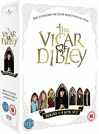 The Ultimate Vicar Of Dibley Collection - Series 1-4 Complete 6 DVD BOX SET NEW
