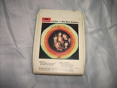 8 Track Tape - The New Seekers - Circles