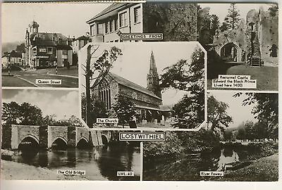 A Frith's Real Photo Multiview Post Card of Lostwithiel. Cornwall.