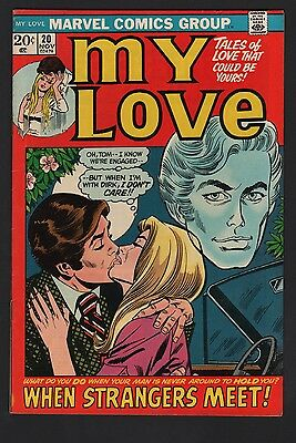 My Love #20 F/VF 7.0 Off White Pages Starlin Art
