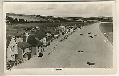 A Tuck's Real Photograph Post Card of Torcross. Devon.