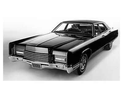 1970 Lincoln Continental Factory Photo ub5262