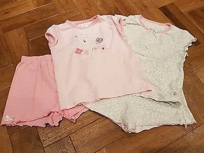 2 x girls pyjamas age 2-3 from mothercare