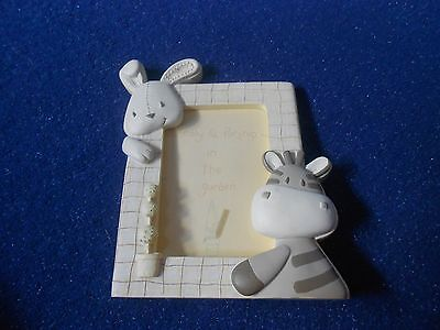 Mamas and papa's photo frame - Zeddy and Parsnip (GC10)
