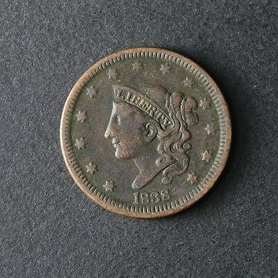 1838 Large Cent Great Deals From The TECC Bargain Bin
