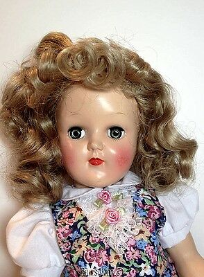BLONDE DOLL WIG FITS TONI P91 Size 8-9
