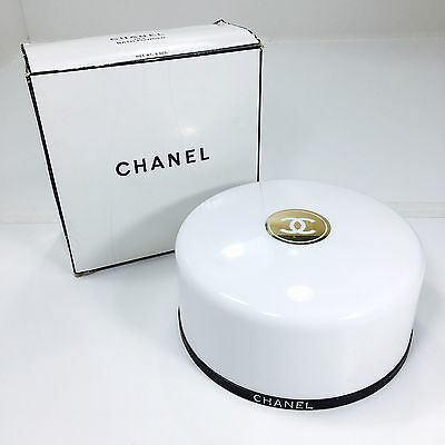 Vintage Chanel No. 5 Scented Bath Body Dusting Powder  Full 8 oz