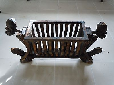 Unusual African Carved Magazine Rack ?
