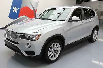 2017 BMW X3 sDrive28i Sport Utility 4-Door 2017 BMW X3 SDRIVE28I TURBOCHARGED PANO ROOF NAV 9K MI #V89874 Texas Direct Auto