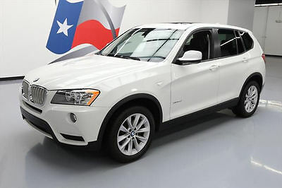 2013 BMW X3 xDrive28i Sport Utility 4-Door 2013 BMW X3 XDRIVE28I AWD TURBO PANO SUNROOF 63K MILES #A21733 Texas Direct Auto