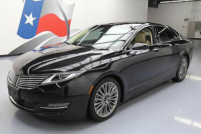 2014 Lincoln MKZ/Zephyr  2014 LINCOLN MKZ 2.0 ECOBOOST TECH PANO ROOF NAV 42K MI #801983 Texas Direct