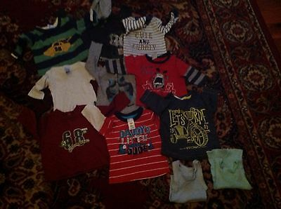 Baby boys mixed winter clothes size 000