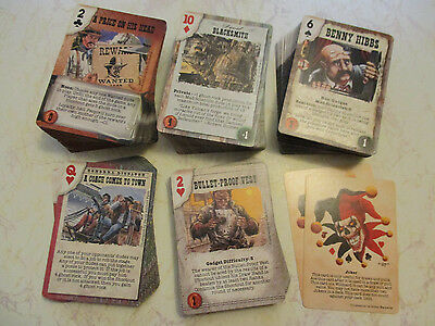 Doomtown CCG - Episode 1+2 - 330+ Mixed Card Lot - 72 Uncommons - Pinnacle AEG