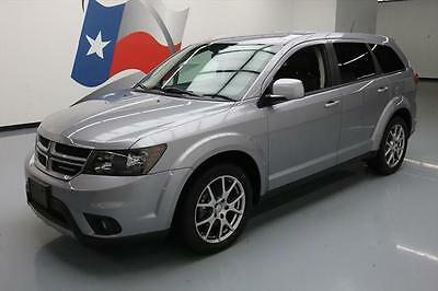 2015 Dodge Journey R/T Sport Utility 4-Door 2015 DODGE JOURNEY R/T 7-PASS HTD LEATHER NAV REAR CAM #713696 Texas Direct Auto
