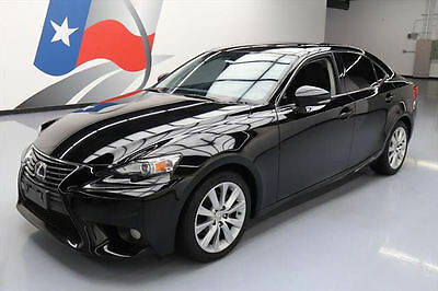 2014 Lexus IS  2014 LEXUS IS250 SUNROOF REARVIEW CAM PADDLE SHIFT 38K #034387 Texas Direct Auto