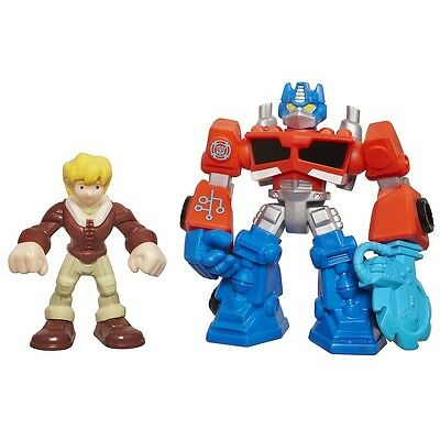 Playskool Heroes - Transformers Rescue Bots - Minicon Figure - Optimus and Cody