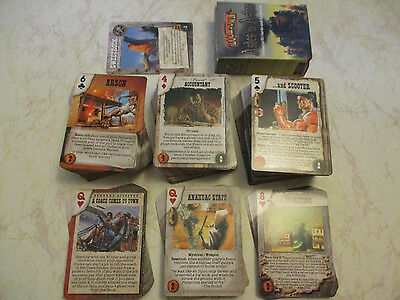 Doomtown CCG - Ashes to Ashes - 410 Mixed Card Lot - 346C 52U 8R 4F - Pinnacle