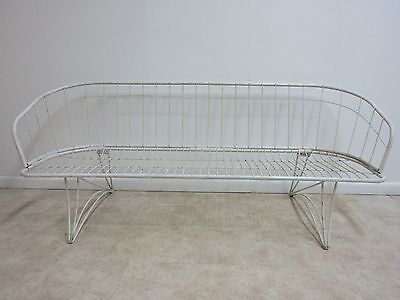 Vintage Mid Century Homecrest Outdoor Sofa Couch Love Seat