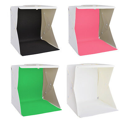 LED Photography Mini Light Room Photo Studio Light Tent Cube Box Backdrops LF774