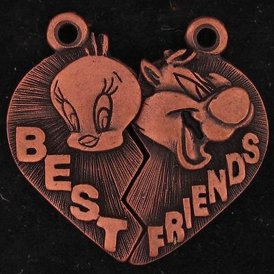 CHARM SET Sylvester Tweety LOONEY TUNES WARNER BROS WB STORE BEST FRIENDS 5040