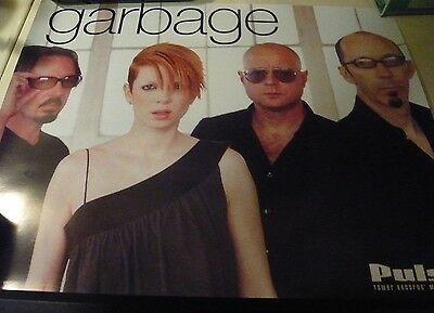 GARBAGE Pulse! Tower Records Rare Promo Poster Shirley Manson