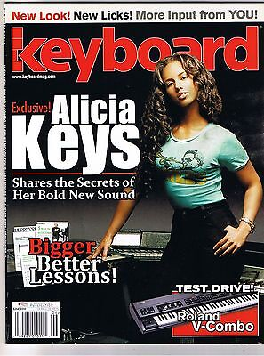 Alicia Keys, Secrets of Her 2010 Sound, Roland V-Combo Keyboard Test, Magazine
