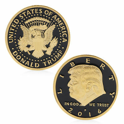 America President Donald Trump VS In God We TrustCommemorative Coin Souvenir