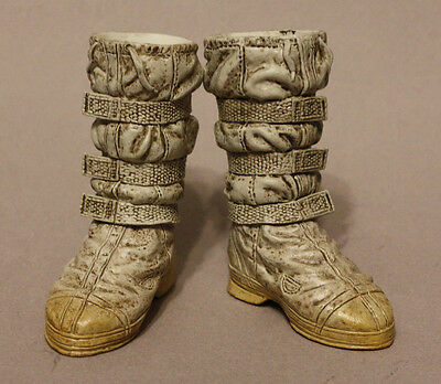 "1/6 12"" Sideshow Star Wars- Snowtrooper: Set of 2-Piece Boots"