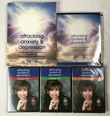 Attacking Anxiety & Depression By Lucinda Bassett Midwest Center 16 CD & 3 DVDs