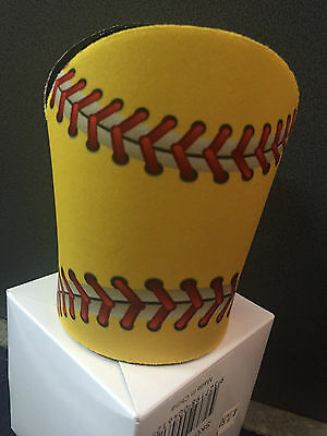 Baseball or Softball Stubby / Drink Cooler - Coaches Gift, Managers Gift YELLOW