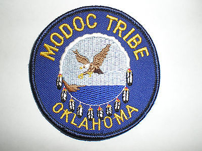 OK Oklahoma MODOC Indian Tribe Reservation Tribal police patch