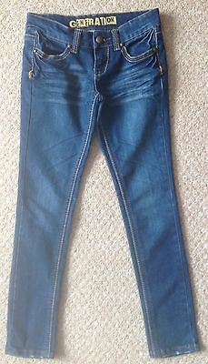 Girl's New Look Jeans - Size 10 Years (Mint Condition)