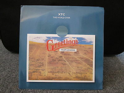 45 Giri - Xtc - Greetings From London - This World Over - Blue Overall - Vs 721