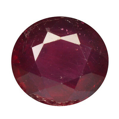 4.02Ct TOP MOST AMAZING RARE ! STUNNING FIRE PIGEON BLOOD RED RUBY