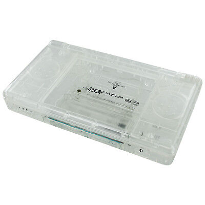 ZedLabz replacement housing shell casing repair kit for DS Lite NDSL DSL - clear