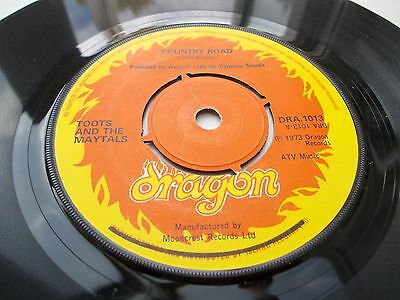 Toots & The Maytals - Country Road / Funky Kingston 7' 1973 Dragon Vg