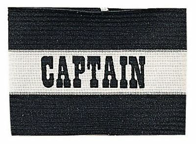 Champion Sports Youth Soccer Captains ARM Band Available & Redblue Black CYP-BLK