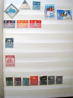 Unsorted South + Central America:-Nicaragua, Dutch Indies, Panama, Paraguay,peru