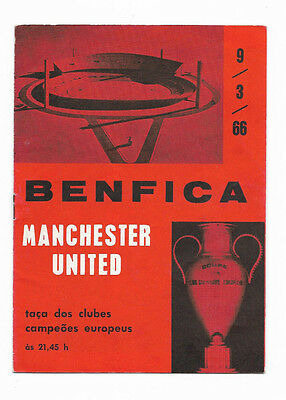 1965/66 European Cup - BENFICA v. MANCHESTER UNITED