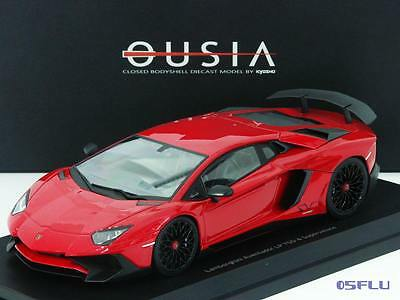 kyosho 1 18 c09521r lamborghini aventador lp 750 4. Black Bedroom Furniture Sets. Home Design Ideas