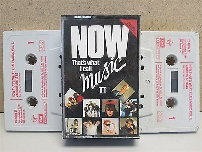 NOW THATS WHAT I CALL MUSIC II - 2 x Cassette Tape Best of 1984 Queen/The Smiths